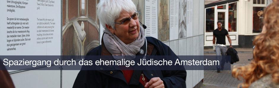 Spaziergang durch das ehemalige jüdische Amsterdam